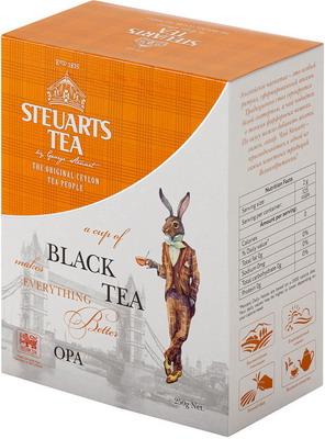 Чай черный Steuarts Black Tea OPA 250 гр цена 2017
