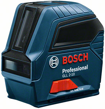 цена на Линейный лазерный нивелир Bosch GLL 2-10 0601063L00