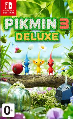 Игра для приставки Nintendo Switch: Pikmin 3 Deluxe