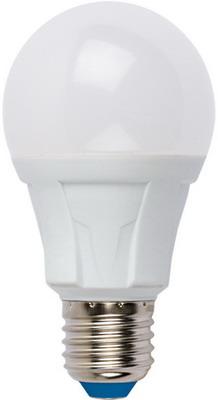 Лампа Uniel LED-A60-8W/NW/E27/FR PLP01WH Форма «А» матовая (4000K) 001523