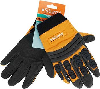Перчатки рабочие Sturm 8054-03-M муж. алькантара высокая степень защиты
