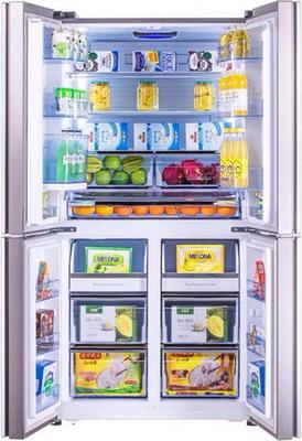 лучшая цена Многокамерный холодильник HISENSE RQ-81 WC4SAC кофейный