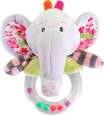 Мягкая погремушка Жирафики Слон россия чайница слон 1