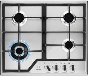 Встраиваемая газовая варочная панель Electrolux GPE 363 MX цена и фото