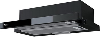 Вытяжка Lex HUBBLE G 2M 600 BLACK все цены