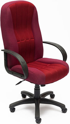 Кресло Tetchair СН833 (ткань/сетка бордо/бордо 2604/13)