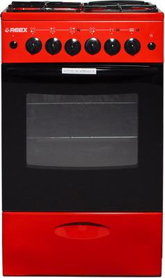 Комбинированная плита Reex CGE-531 ecRd красный газовая плита reex cge 540 ecbk