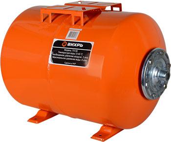 Гидроаккумулятор Вихрь ГА-50 гидроаккумулятор вихрь га 50