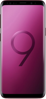 Смартфон Samsung Galaxy S9+ 64Gb (SM-G965) бургунди смартфон samsung galaxy s8 sm g950f 64gb жёлтый топаз