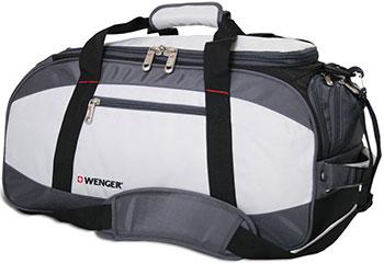 Сумка спортивная Wenger серый/чёрный полиэстер 1200D 52х25х30 см 39 л 52744465 сумка wenger 606462 черный