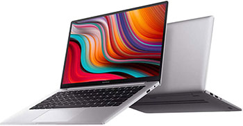 Ноутбук Xiaomi Mi RedmiBook (XMA1903-DJ-DOS) серебристый