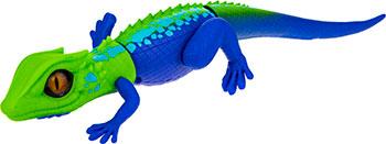 Фото - Робо-ящерица ZURU RoboAlive(Зел -Син) 2 *1 5vAA бат (в компл не входят) 40*13*10см робо змея zuru roboalive