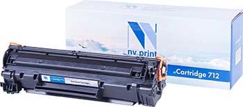 Картридж Nvp NV-712-SET3 для Canon i-Sensys LBP 3010/ 3010B/ 3020/ 3100 (1500k) (3 шт)