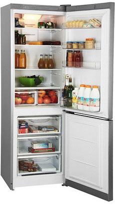 лучшая цена Двухкамерный холодильник Indesit DF 5180 S
