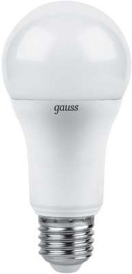 Лампа GAUSS LED A 60 globe 12 W E 27 2700 K 102502112 лампа gauss led globe e 27 6 5w 2700 k 105102107
