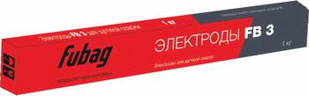 Электрод FUBAG FB 3 2.5 мм (пачка 1 кг) цена в Москве и Питере