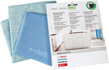 Чистящие салфетки 2 шт Bosch E-cloth 00466148