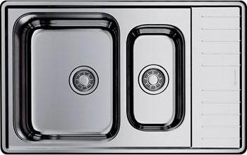 лучшая цена Кухонная мойка Omoikiri Sagami 79-2-IN-L нерж.сталь/нержавеющая сталь 4993447