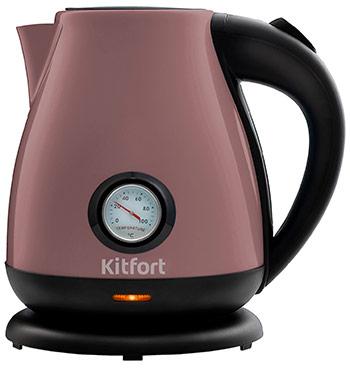 Чайник электрический Kitfort КТ-642-4 лиловый визитница razor лиловый