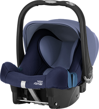 Фото - Автокресло Britax Roemer Baby-Safe Plus SHR II Moonlight Blue Trendline 2000027791 автокресло britax roemer baby safe plus shr ii wine rose trendline 2000027790