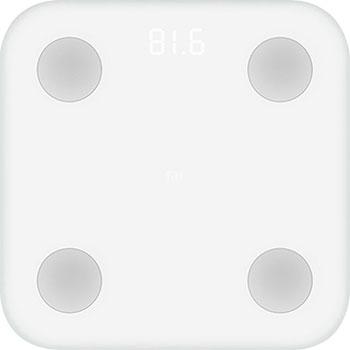 Весы напольные Xiaomi Mi Body Composition Scale белый все цены