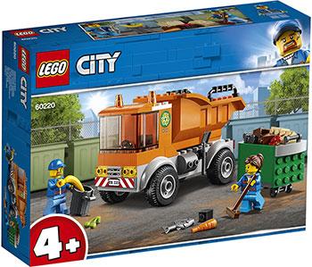 Конструктор Lego Мусоровоз 60220 City Great Vehicles lego lego city great vehicles 60178 гоночный автомобиль