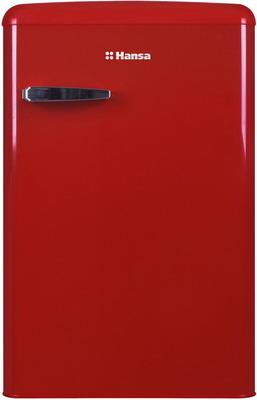 Однокамерный холодильник Hansa FM 1337.3RAA красный однокамерный холодильник hansa fm 1337 3 jaa бирюзовый