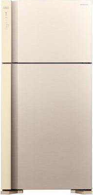 Двухкамерный холодильник Hitachi R-V 662 PU7 BEG бежевый двухкамерный холодильник hitachi r v 662 pu7 bsl серебристый бриллиант