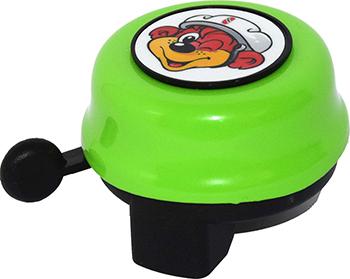 Звонок Puky G 22 9987 kiwi салатовый передняя корзина puky lk l 9109 для беговелов