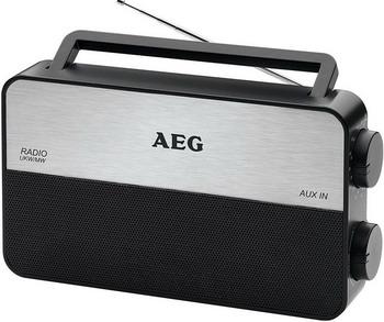 Радиоприемник AEG TR 4152 schwarz радиоприемник aeg mr 4139 bt черный