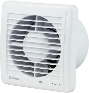 Вытяжной вентилятор BLAUBERG Aero 125 H белый цена и фото