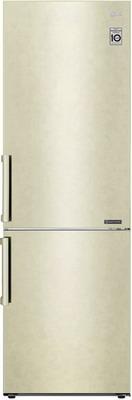 Двухкамерный холодильник LG GA-B 459 BECL бежевый