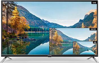 все цены на 4K (UHD) телевизор Hyundai H-LED 43 U 601 BS2S черный онлайн