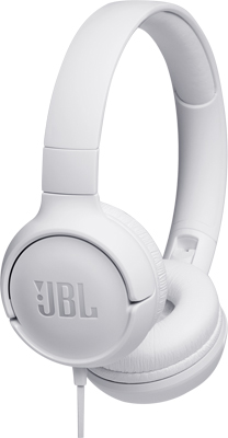 лучшая цена Наушники проводные JBL JBLT 500 WHT белый