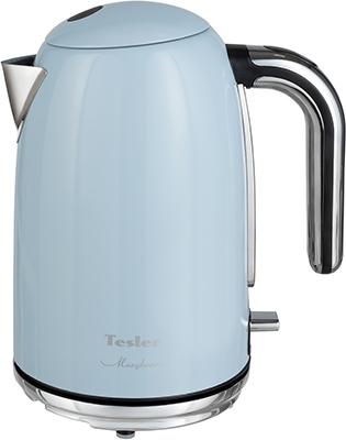 Фото - Чайник электрический TESLER KT-1755 SKY BLUE чайник tesler kt 1755 red