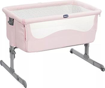 Детская кроватка Chicco Next2Me цвет French Rose недорого