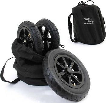 надувные батуты Колеса надувные Valco baby Sport Pack Black 9179