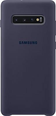 Чехол (клип-кейс) Samsung S 10+ (G 975) SiliconeCover navy EF-PG 975 TNEGRU