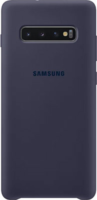 Чехол (клип-кейс) Samsung S 10+ (G 975) SiliconeCover navy EF-PG 975 TNEGRU чехол клип кейс samsung s 10 g 975 siliconecover pink ef pg 975 thegru