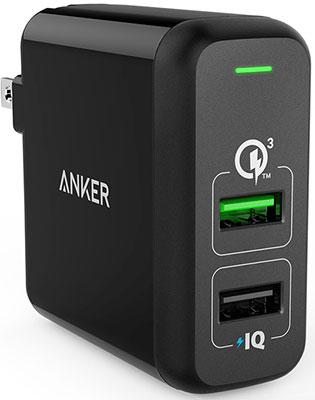 Сетевое зарядное устройство ANKER Charger-A2321