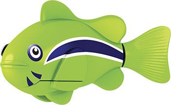 В виде животного(ых) Robofish РобоРыбка Клоун (зеленая) 2501-1 игрушка для ванны robofish роборыбка клоун цвет оранжевый белый