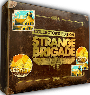 Игра для приставки Microsoft Xbox One Strange Brigade. Коллекционное издание