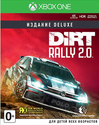 Игра для приставки Microsoft Xbox One Dirt Rally 2.0 Издание Deluxe