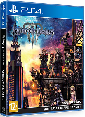 Игра для приставки Sony PS4 Kingdom Hearts III Стандартное издание