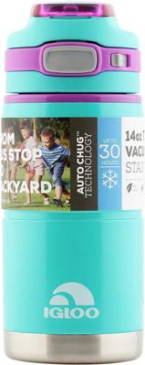Кружка-термос Igloo из нержавеющей cтали ''Tahoe'' 410 мл Teal пластиковая бутылка для воды igloo hydration tahoe aqua 710 мл