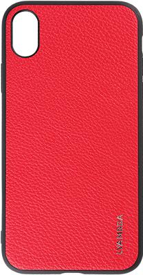 Чехол (клип-кейс) Lyambda ELARA для iPhone XS (LA04-EL-XS-RD) Red клип кейс deppa apple iphone 5 se tpu red