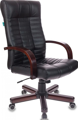 Кресло Бюрократ KB-10/WALNUT черный кресло компьютерное бюрократ kb 9 eco