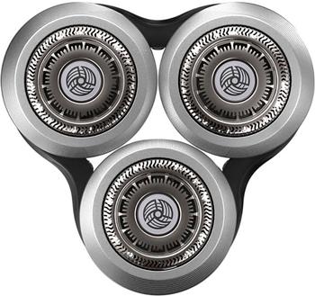 Бритвенные головки Philips SH90/70 серебристый черный