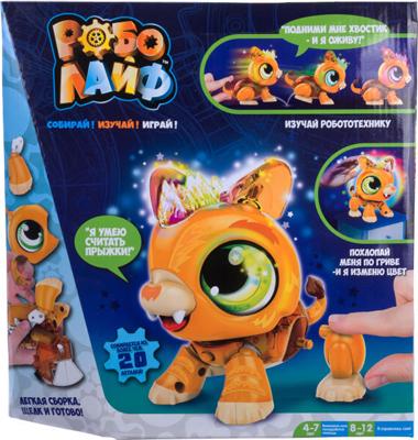 цена Игрушка 1 Toy РобоЛайф Львенок интерактивный (модель для сборки) со свет. эффект. 2*АА бат (не входят) 30х28х5 5 Т онлайн в 2017 году