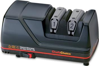 Точилка электрическая Chef's Choice CC316 черная электрическая точилка chef s choice cc316